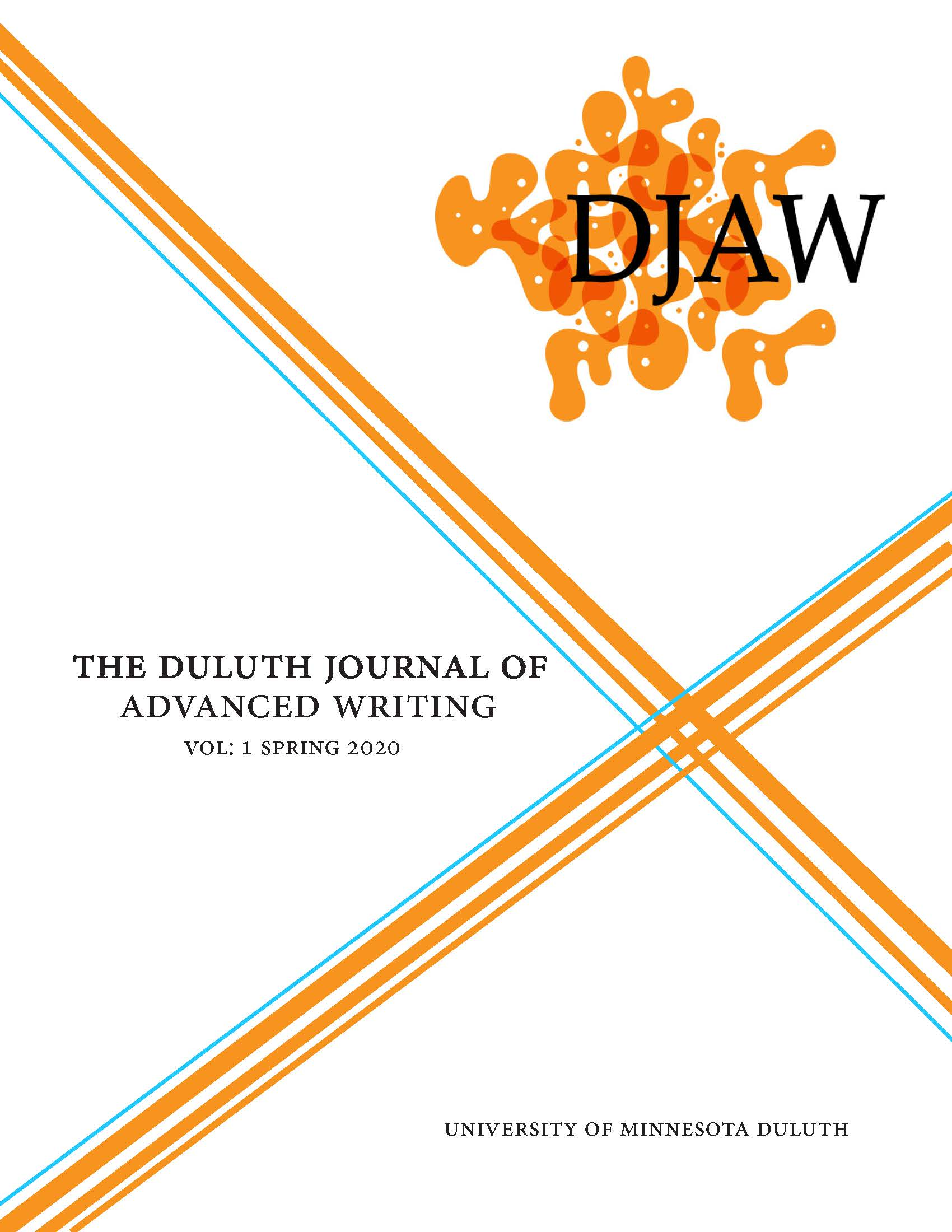 Image of Duluth Journal of Advanced Writing